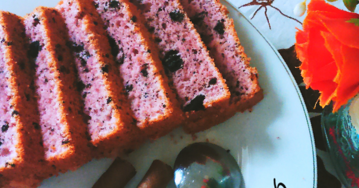 Resep Strawberry Oreo Milk Chiffon Cake