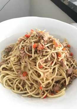 Tuna aglio olio