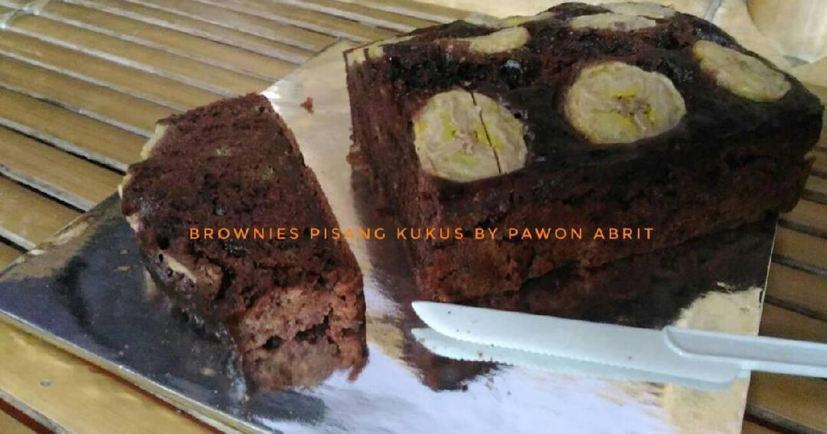 Resep Brownies Pisang Kukus Oleh Pawon Abrit