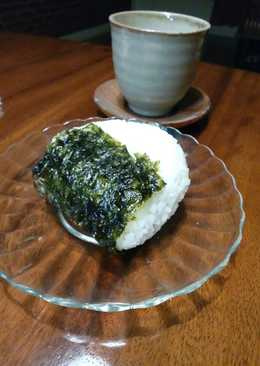 Onigiri Tuna Mayo simple