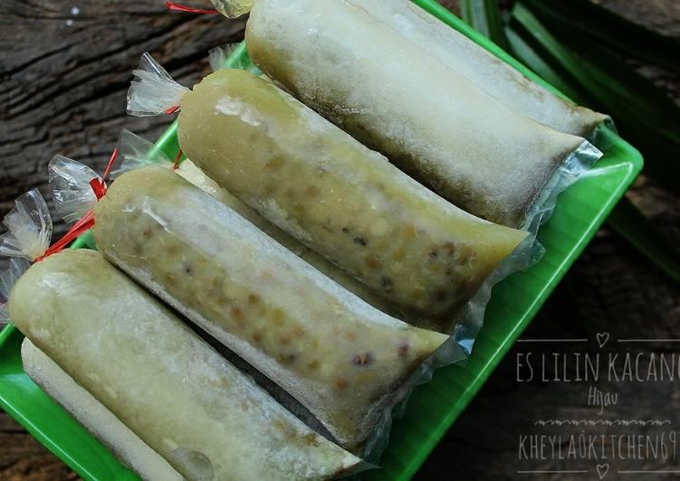 Resep Es Lilin Kacang Hijau Jadul Favorit