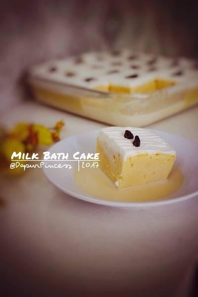 Milk Bath Cake / Cake Mandi Susu / Tres Leches Cake
