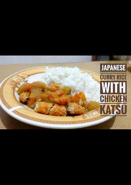 Japanese Curry Rice (With Chicken Katsu)