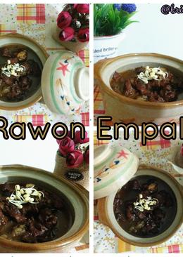 Rawon Empal #ketofriendly #ketofy #debm #black soup