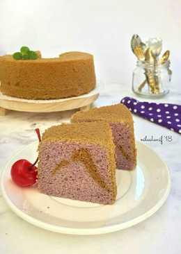 Gluten free Taro Chiffon cake