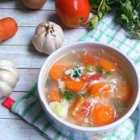 Sup tomat wortel #rabubaru