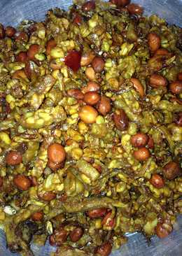 Kering tempe teri kacang