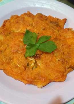Pancake Kimchi Tuna