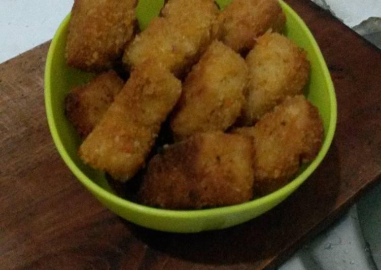 Nugget mie ayam keju
