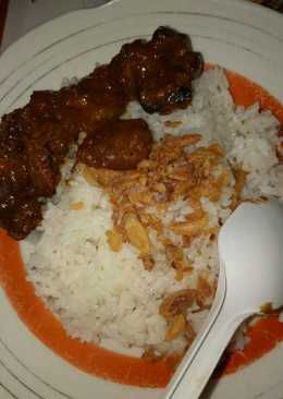 Nasi uduk (rice cooker) super simpel