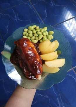 Steak Ayam (Low calories)