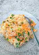 Soun/bihun goreng putih (bisa untuk isian risoles/lumpia)