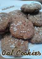 Oat Choco Cookies tanpa terigu (sehat simple 4 bahan aja)