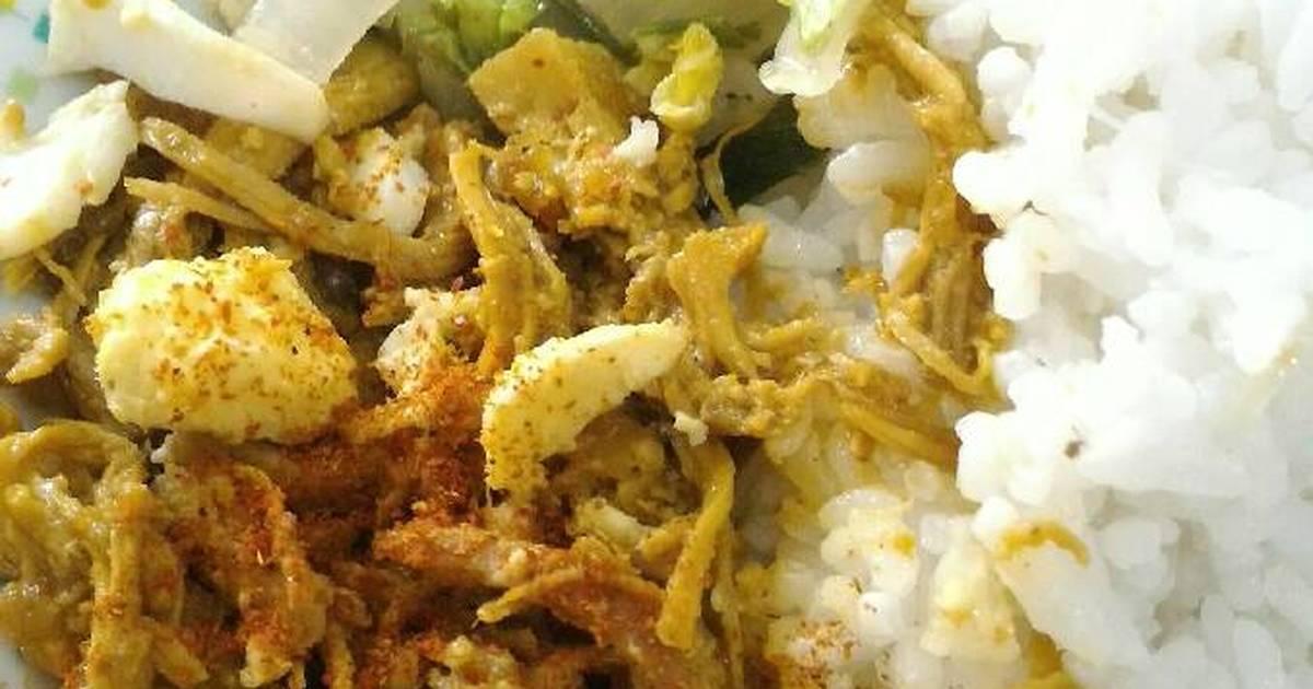 resep ayam suwir bumbu rempah oleh anita victoria sadinata