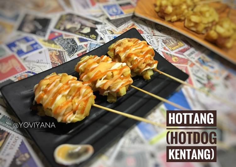 Resep Hottang Hotdog Kentang Oleh Yovi Yana Cookpad