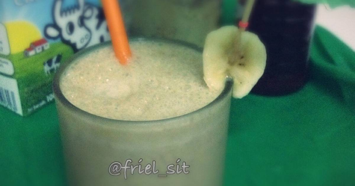 Resep Green tea banana smoothie 3M