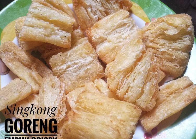 Singkong Goreng Empuk Crispy