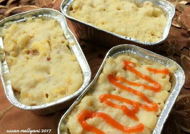 Resep Macaroni schotel kukus oleh Susan Mellyani Resep Macaroni schotel kukus - Susan Mellyani