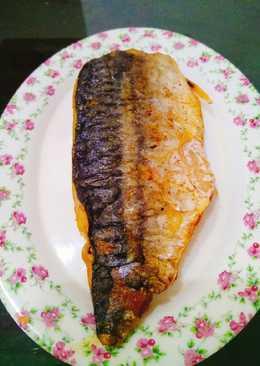 Fillet ikan saba(minyak zaitun)