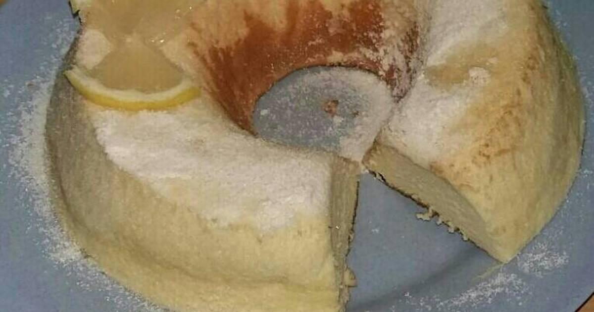 Resep Chiffon Lemon Cake