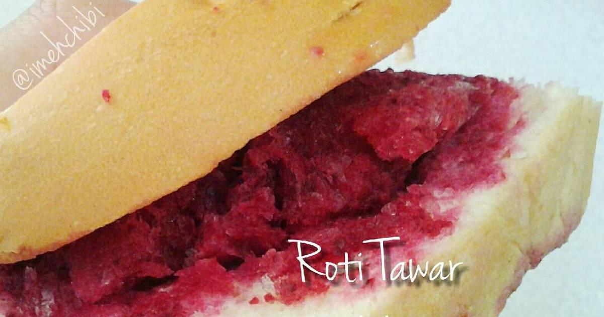 Resep Roti Tawar isi Beetroot Lemonade Sherbet