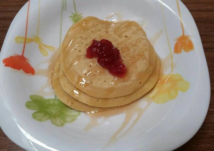 resep lengkap untuk Pancake simple(for my baby)