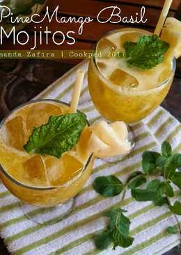 PineMango Basil Mojitos (non alkohol)