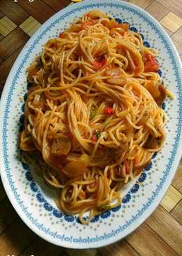 Hot and spicy spaghetti
