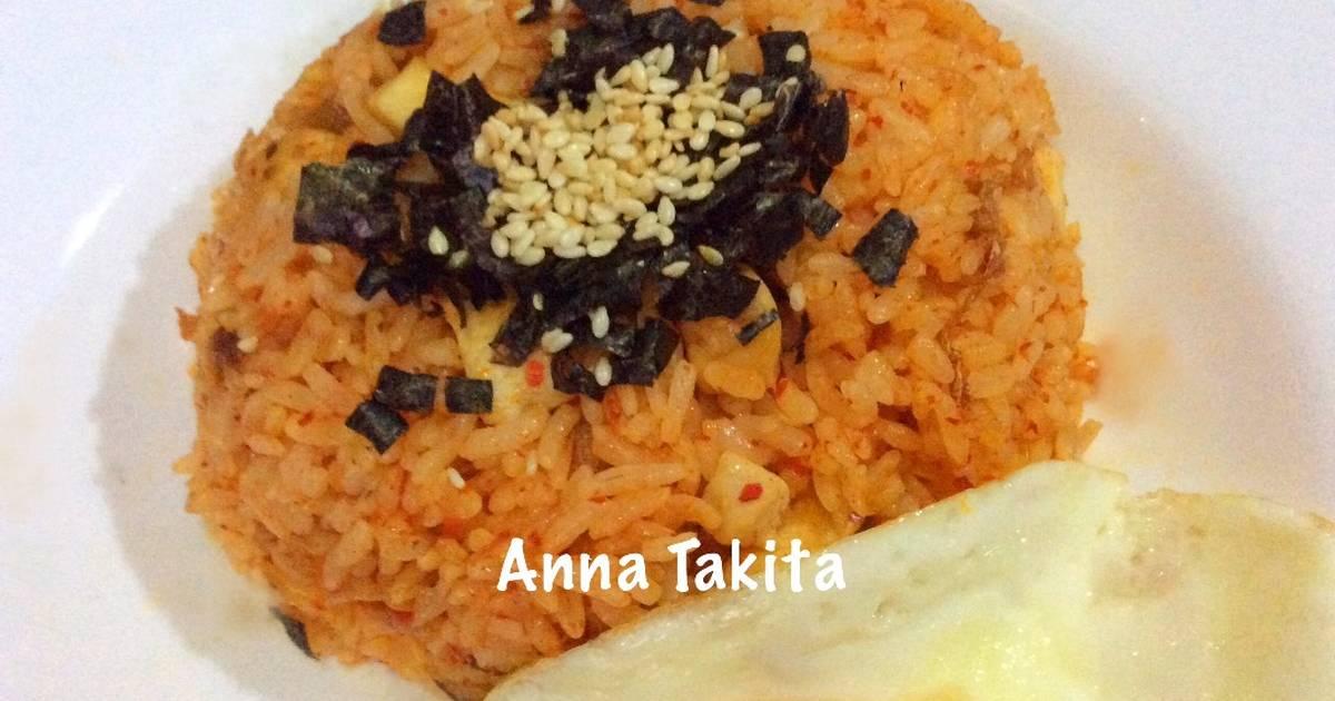 nasi telur korea   113 resep   cookpad