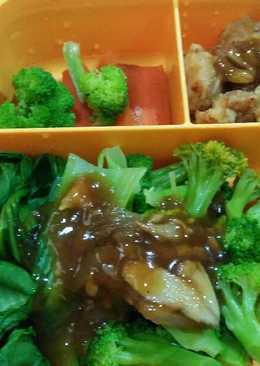 chicken karage bento