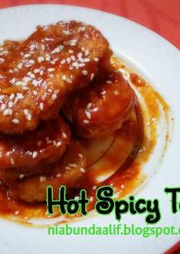 Hot Spicy Tempe