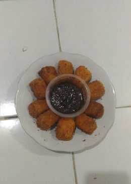 Pisget (pisang nugget) crunchy