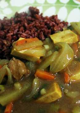 japanese curry (kari jepang)