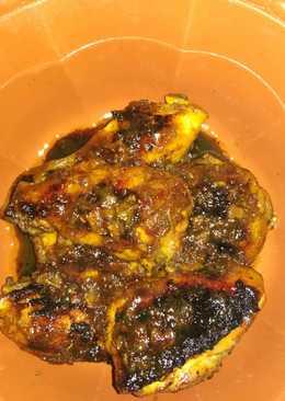 Ayam bakar teflon simple