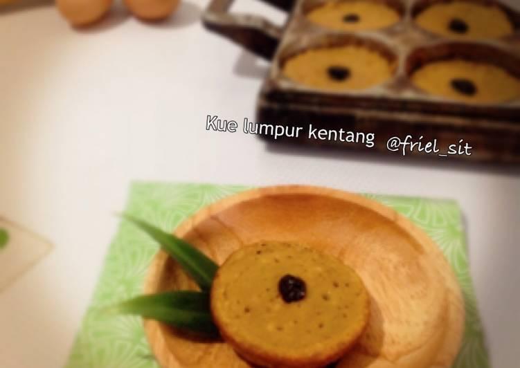 Resep Kue lumpur kentang - gula palem Dari Frielingga Sit
