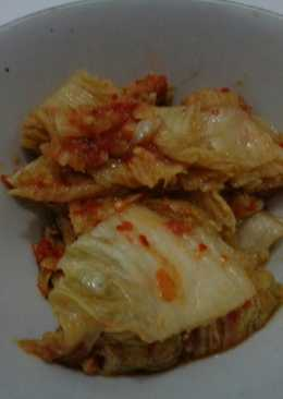 Kimchi Korea Sawi Putih ala Rempah Lokal