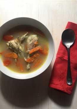 Sup Hangat Ayam Kampung