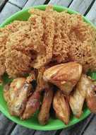 Ayam goreng kremes 🍗🍗