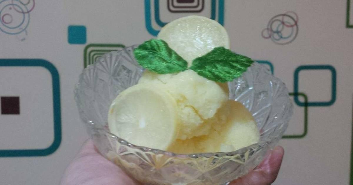 Resep Creamy Lemon Sorbet