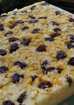 Cake jagung manis