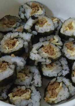 Sushi ayam kecap telur (MPASI 1yr)