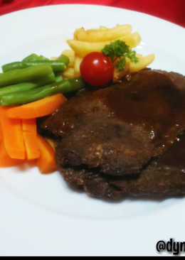 Sirloin Steak Saus Teriyaki