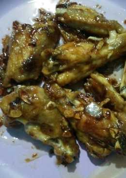 Ayam goreng saus tiram mayonese
