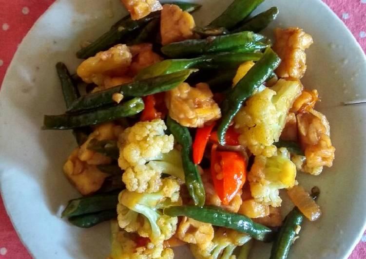 Resep Tumis Kacang Tempe Bunga Kol Erlina Kime Resep Mudah Masakan Rumahan Dyhahqyla