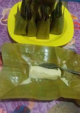 Barongko daun pisang