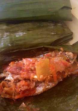 Pepes ikan kembung ala mama dikampung😘