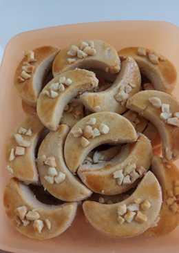 Peanut butter cookies (kue kacang) #kuekering