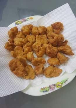 Bakso goreng (ayam) MPASI 1,3 th