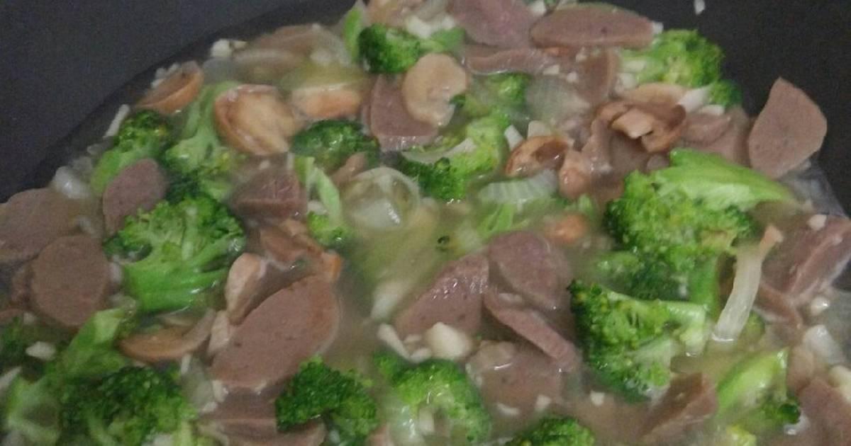 Resep Brokoli Cah Bawang Merah