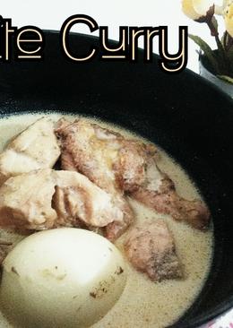 White Curry (Opor) #ketofriendly #ketofy #debm #ayam #telur